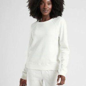 Athleta Calla Lily Sundown Sweatshirt White HW8678